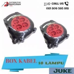 BOX KABEL 10 LAMPU JUKE