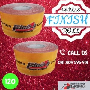 AMPLAS ROLL FINISH 120