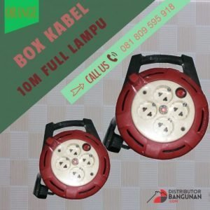 BOX KABEL 10M FULL LAMPU ORANGE
