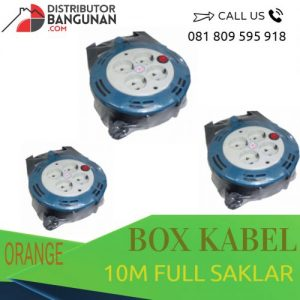 BOX KABEL 10M FULL SAKLAR ORANGE