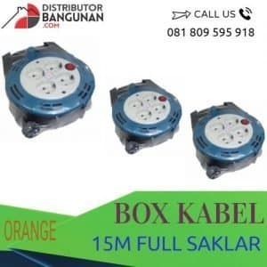 BOX KABEL 15M FULL SAKLAR ORANGE