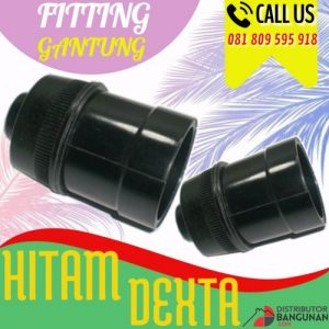 FITTING GANTUNG HITAM DEXTA