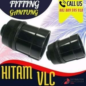 FITTING GANTUNG HITAM VLC