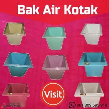Bak air kotak