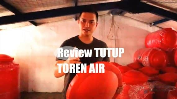 Review Tutup Toren Air Warna | Distributor Bahan Bangunan Bandung