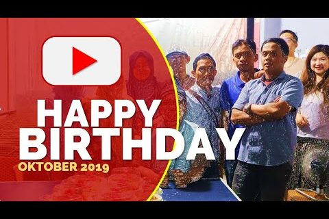 Happy Birthday Oktober | Distributor Bahan Bangunan Bandung