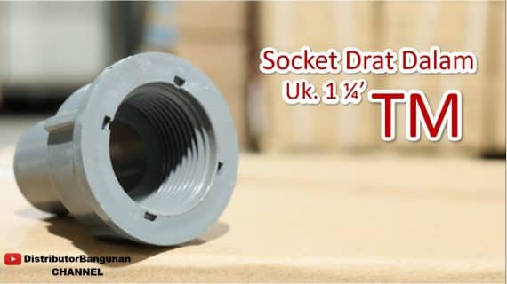 Socket Drat Dalam Uk. 1 1/4′ TM
