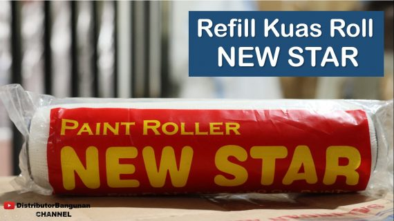 Refill Kuas Roll NEW STAR