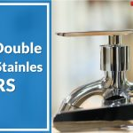 Kran Double Uk. 1/2′ Stainles TRS