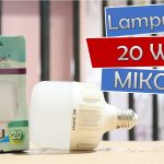 Lampu Led 20 Watt MIKOTEK