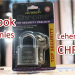 Gembok 40 Stainles Lpd CHROME