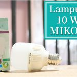 Lampu Led 10 Watt MIKOTEK
