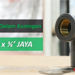 Knee Drat Dalam Metal Uk.1/2×3/4′ JAYA